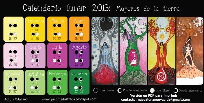 Circulo de mujeres de la madre tierra mi ciclo mis fases for Ciclo lunar julio 2016