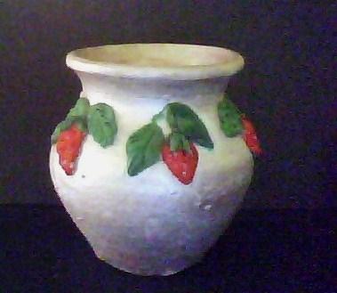 Anitakumarcrafts: Ceramic Pot decoration