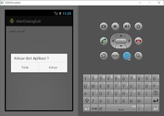 membuat alert dialog pada aplikasi android