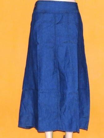 Rok Jeans Panjang Cantik RM311
