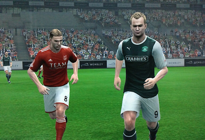PES 2013: SPL + Scottish Football League option file