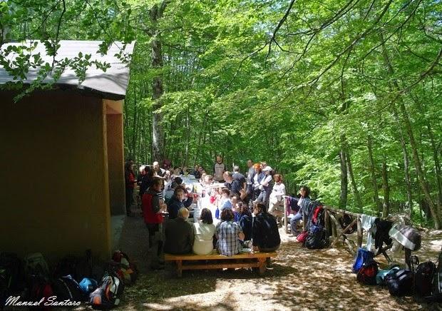 Sant'Eufemia a Majella, Riserva Naturale Lama Bianca, rifugio