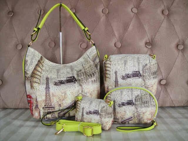Tas Fashion 14749 (Yellow)