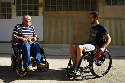 Estella-Lizarra desde la silla de ruedas