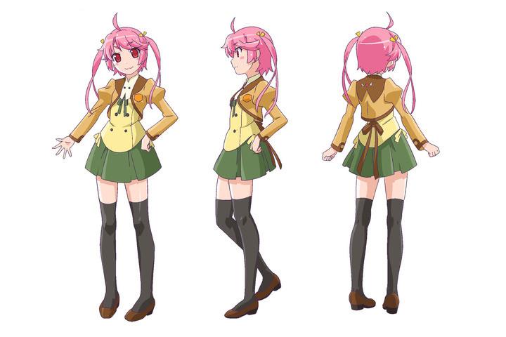 Idol Kei Tomoe sebagai Komugi Yoshida