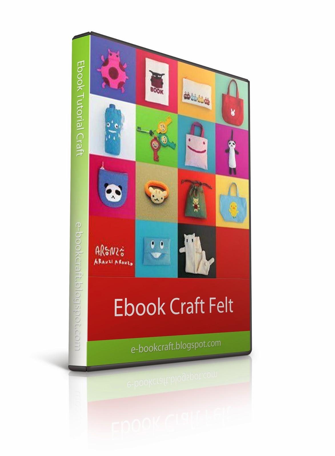 Ebook Craft Flanel, Ebook Kerajinan Tangan dari Flanel,
