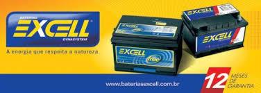 Bateria Automotiva Excell 12 meses de Garantia