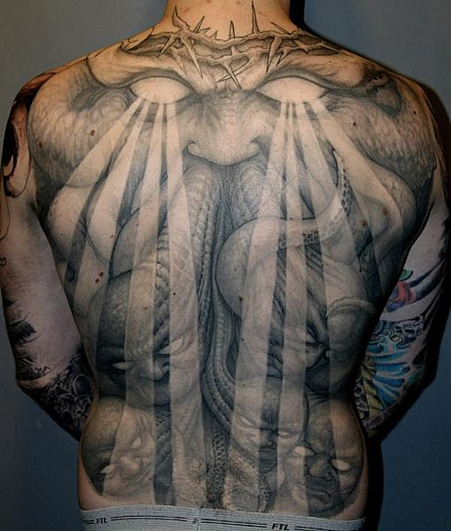Spiritual Apocalypse Monstrosity: Free Tattoo Flash: Religious Tattoos