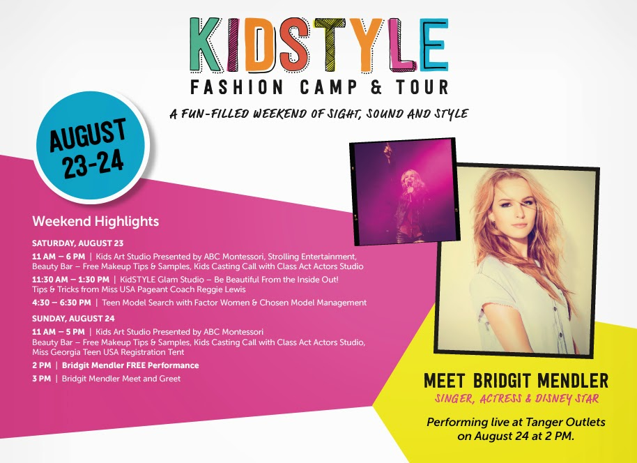 coach usa factory outlet yunn  If you're in Georgia, mark your calendars for the Kids Style Fashion Camp &  Tour with a live performance by Disney star, Bridgit Mendler