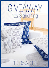 Giveaway hos SignePling