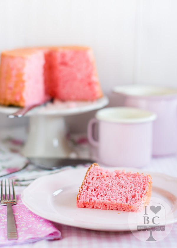 Bubble Gum Angel Food Cake