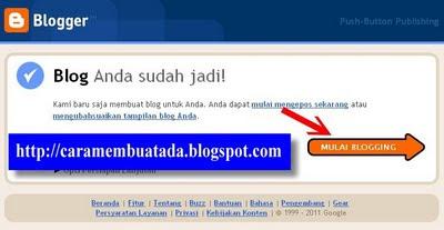Blog jadi