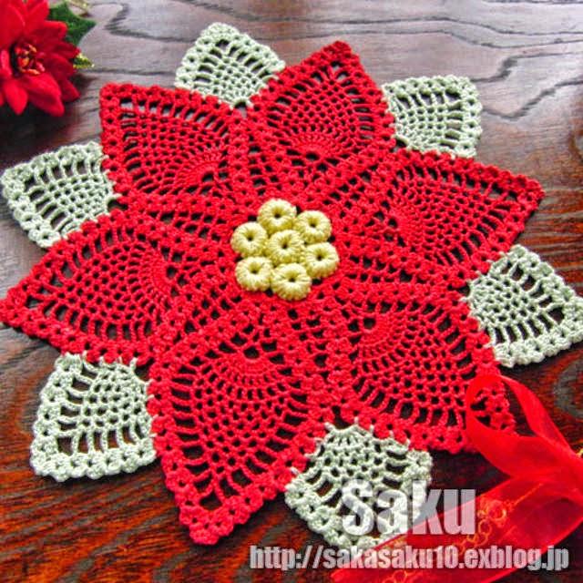Carpeta Estrella Federal al crochet