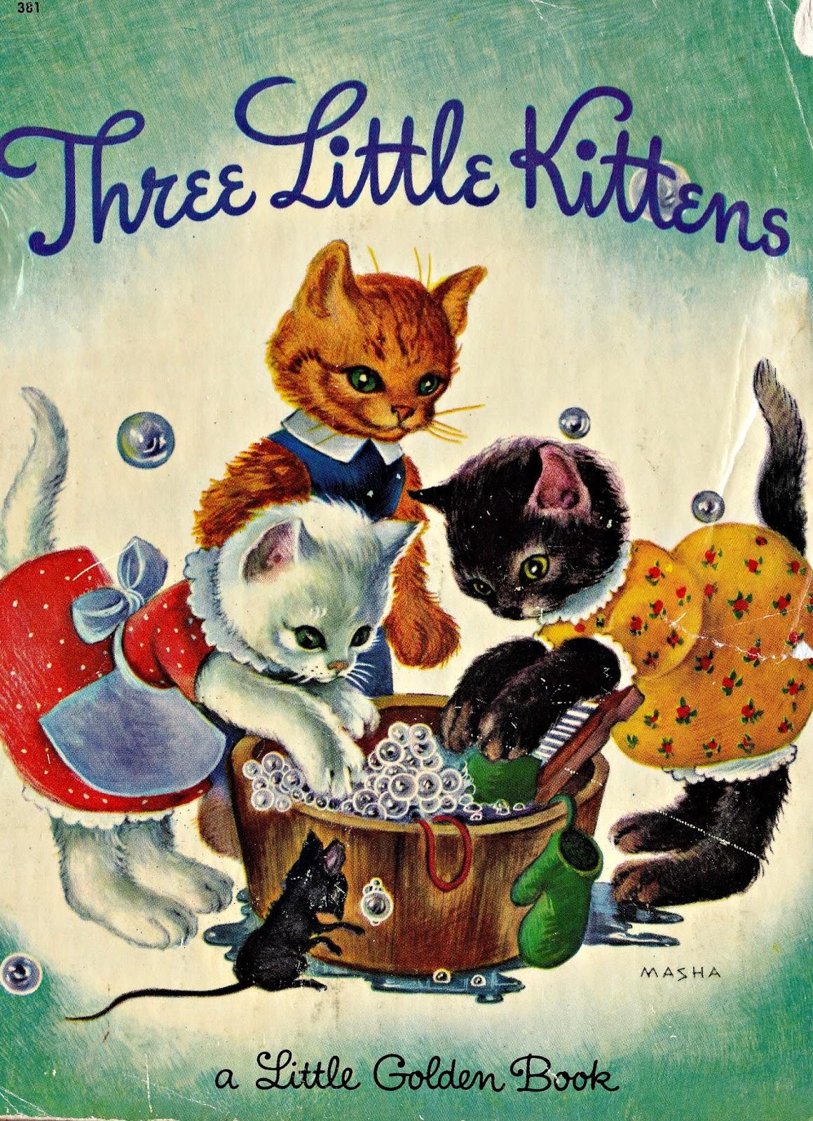 Very Shy Kitten Three Little Kittens/the Shy