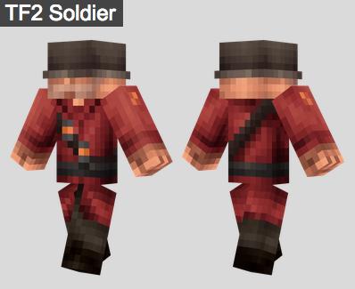 6. TF2 Soldier Skin