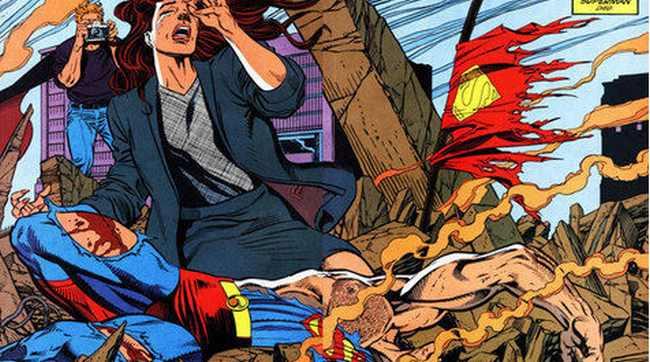 Superman mati dan hidup lagi