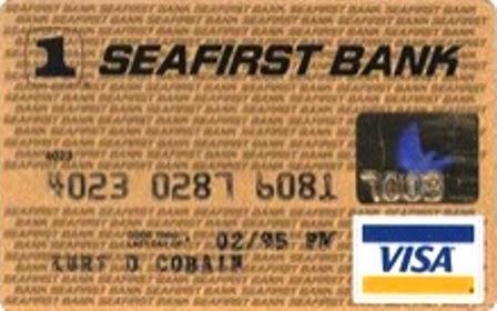 Kartu kredit, Kurt Cobain