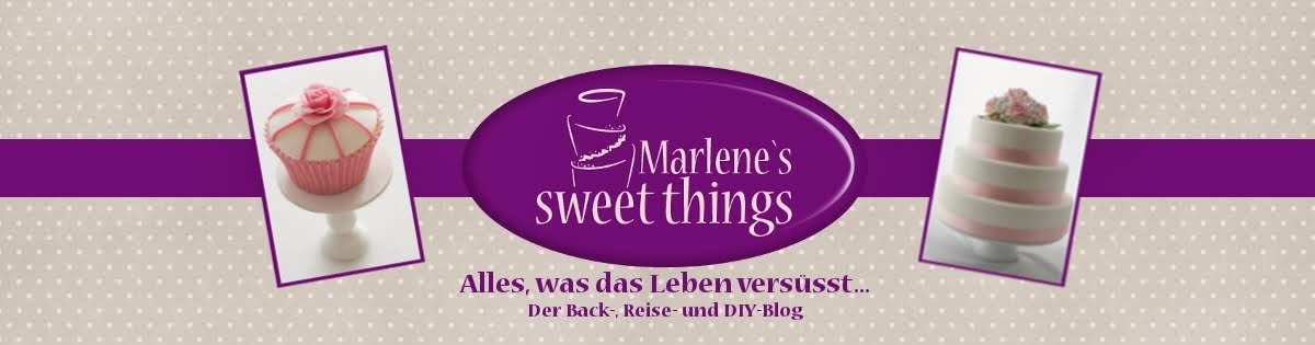 Marlene's sweet things