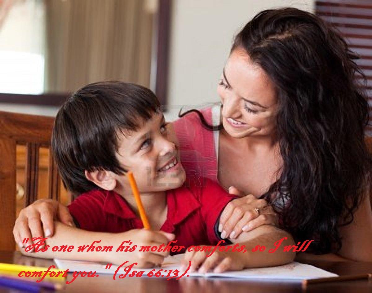 Сын помогает маме 15 фотография