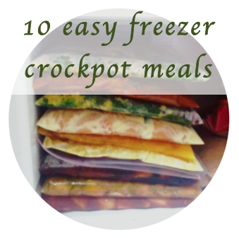 Easy crockpot recipes to freeze