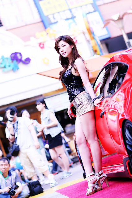 7 Jo Sang Hi at Hyundai Best Dress-up Car Contest 2012-very cute asian girl-girlcute4u.blogspot.com