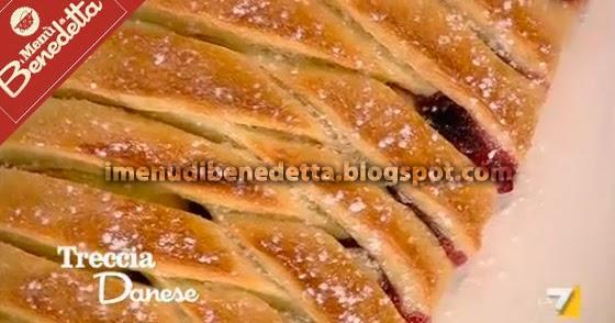 Treccia danese la ricetta di benedetta parodi for Ricette di benedetta parodi