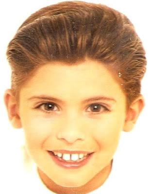 Rostro de Imanol Landeta de niño