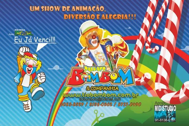 Palhaço Tio Bombom & Cia. Animações Infantis