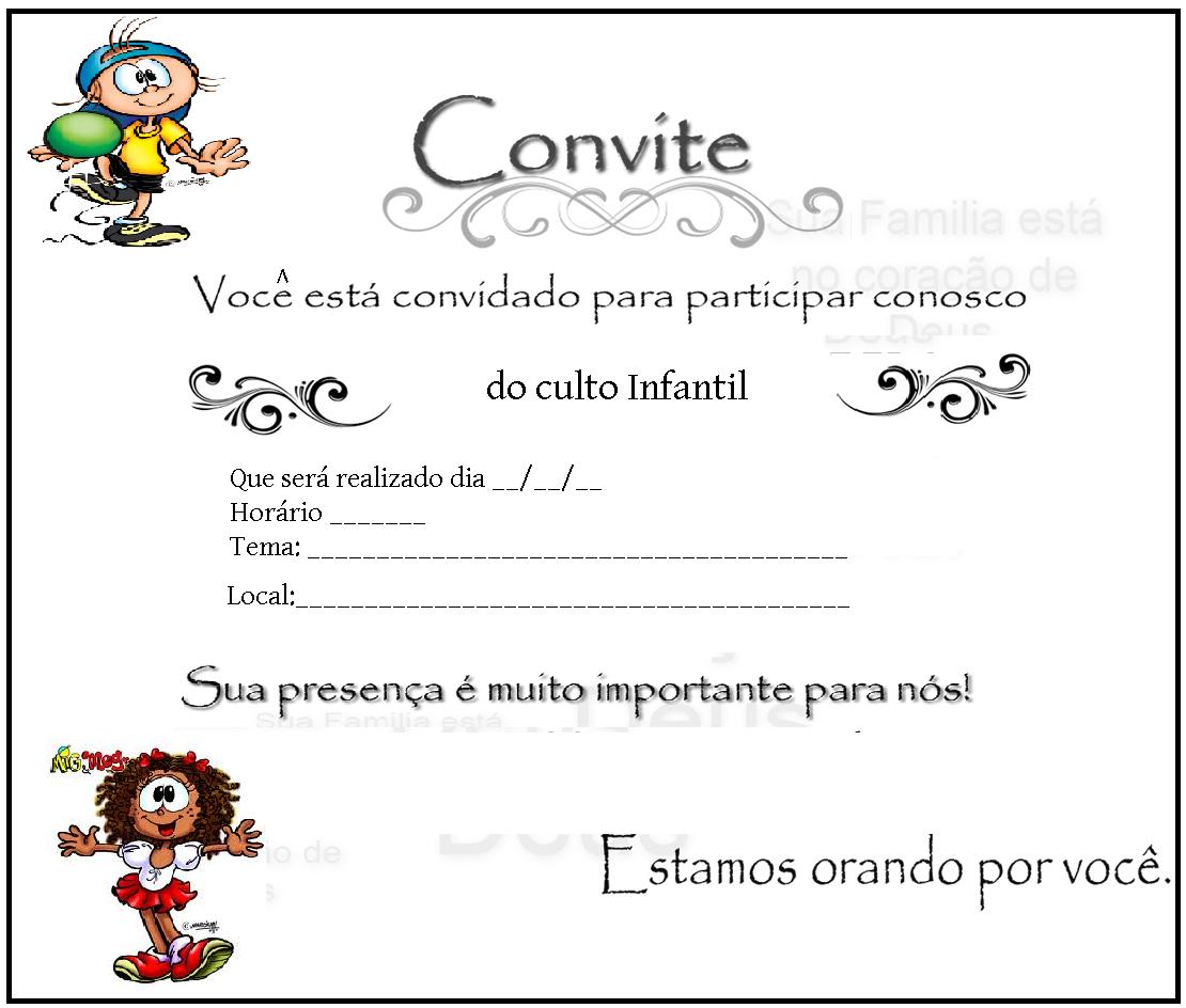 Modelo De Convite