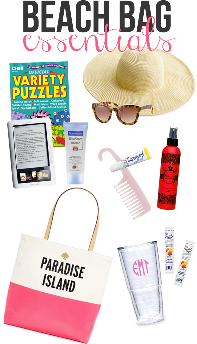 Southern Curls & Pearls: Beach Bag Essentials