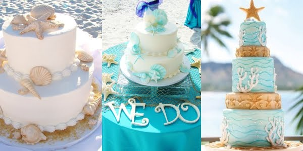 Gorgeous beach wedding cakes junglespirit Image collections