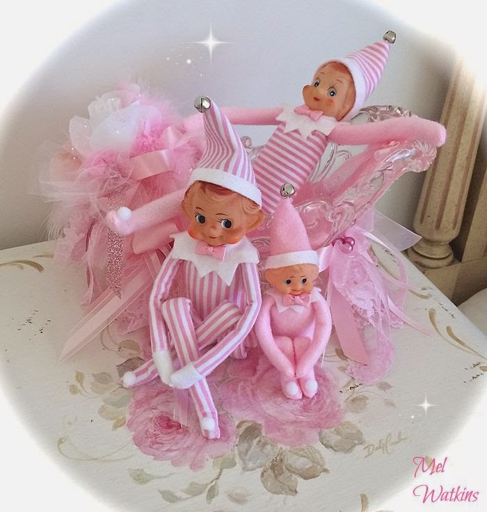 Olivia's Romantic Home: Mel's Pink Christmas Home Tour - photo#24