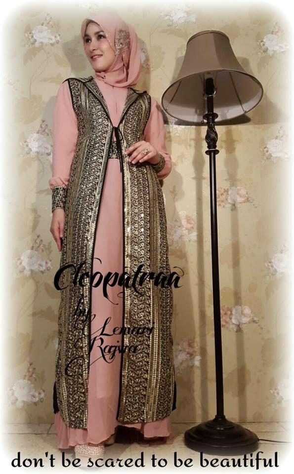 Gambar Gamis Cleopatraa Terbaru
