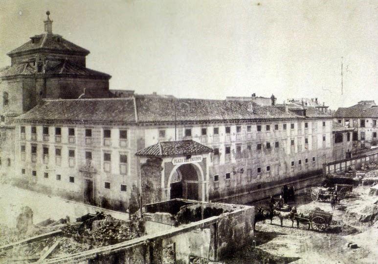 Ruinas del Convento Maravillas en Madrid