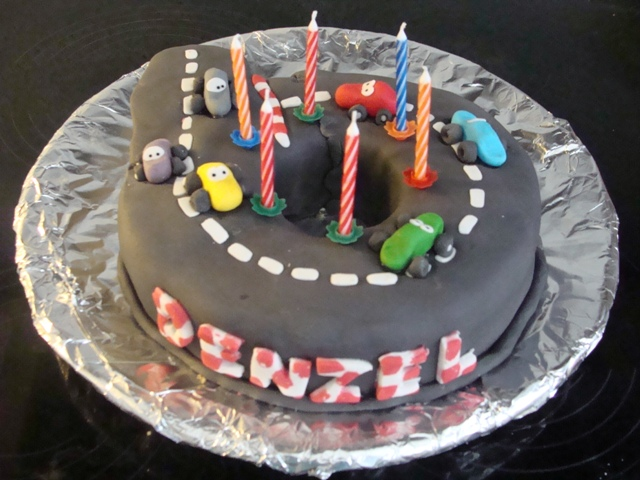 birthday cake of denzel 6th birthday