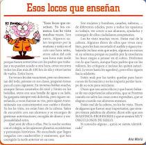 ESOS LOCOS Y LOCAS QUE ENSEÑAN