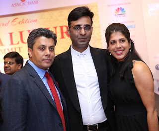 Tarun Shienh at Luxury Summit 2015 of Assocham