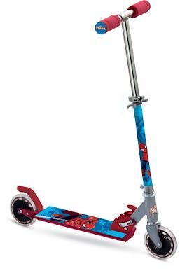 JUGUETES - PATINETES  Spiderman - Patinete de aluminio | 2 ruedas  Mondo Toys | Comprar en Amazon