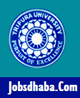 Tripura University Recruitment, Sarkari Naukri