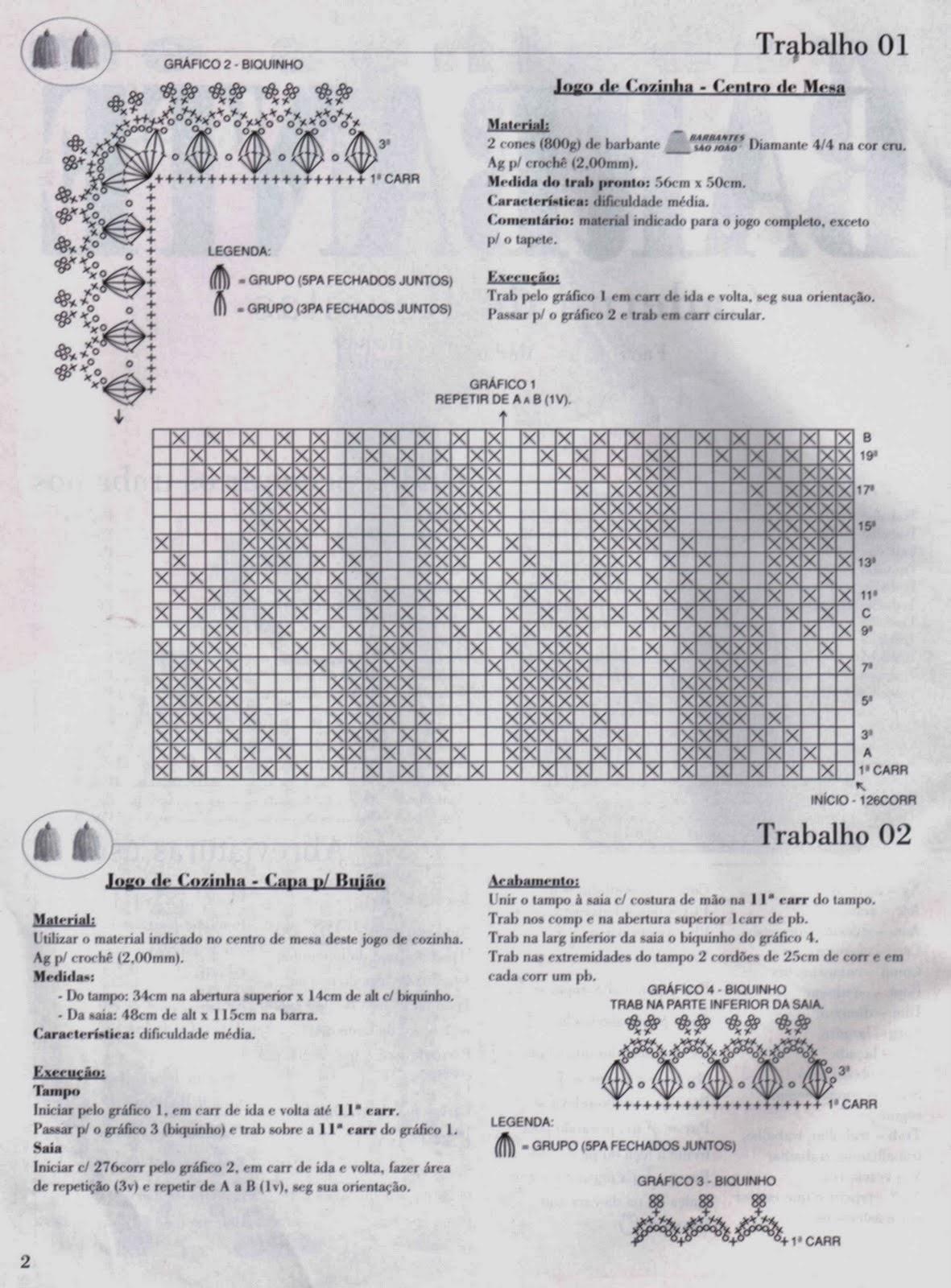Tapete Para Sala De Croche Com Grafico Mediabix Com Inspira O