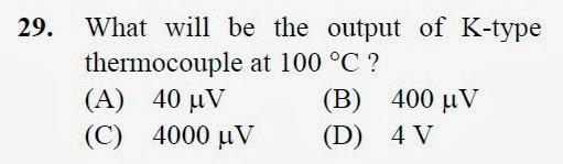 2012 December UGC NET in Electronic Science, Paper III, Questions 29