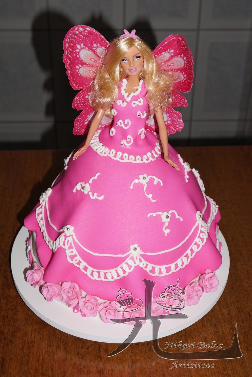 Hikari bolos artsticos bolo barbie borboleta bolo barbie borboleta altavistaventures Image collections