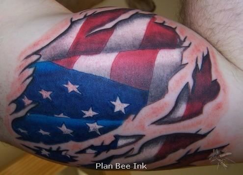 american flag tattoos best art designs