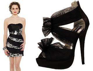 Vestidos curtos para casamento e um sapato que combina com o look
