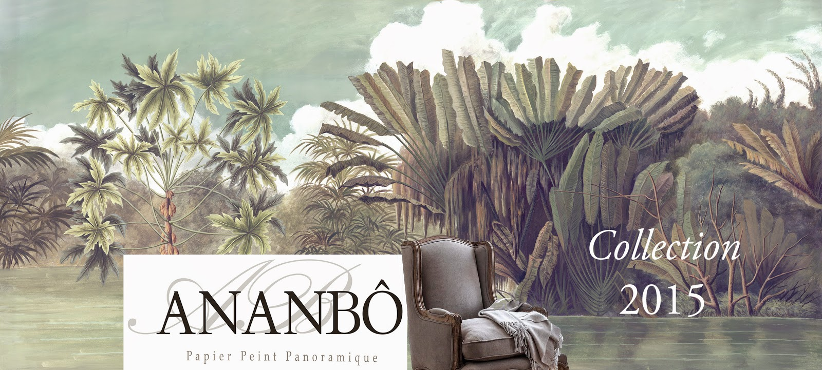 Ananbô: Papier peint panoramique Ananbô La Collection 2015