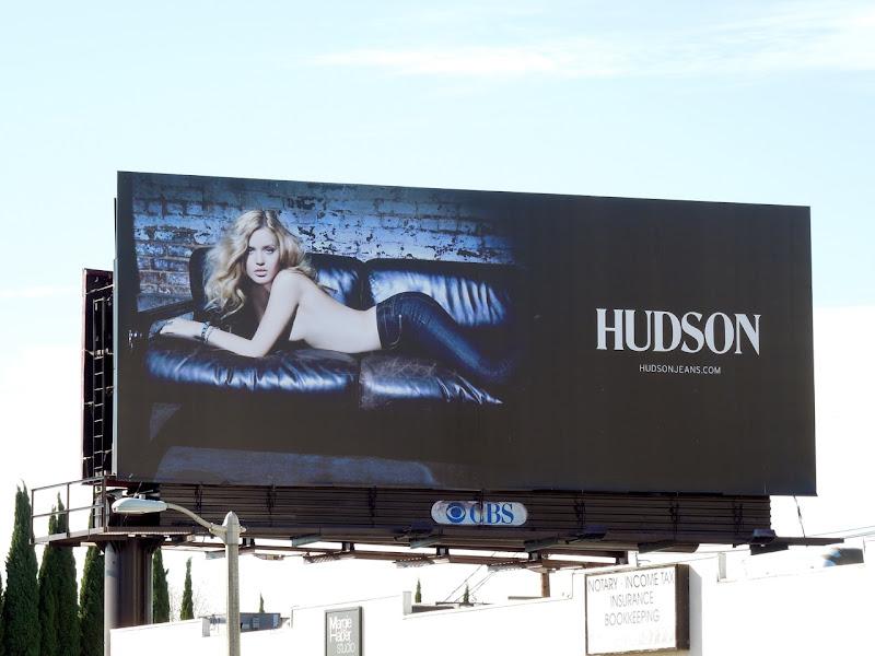 Hudson Jeans billboard