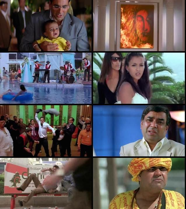 Welcome 2007 Hindi DVDRip 480p 400MB