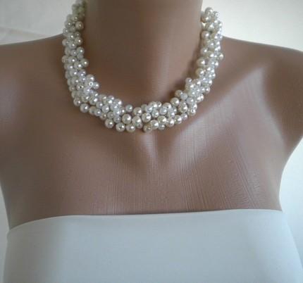 Lluvia de perlas para la novia.