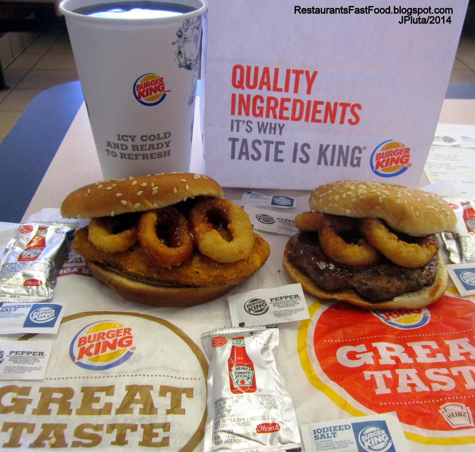 fast food and burger king Nutrition facts » restaurants » fast food » burger king breakfast menu item serving size calories calories from fat total fat (g)  bk burger shots 2-pack:.
