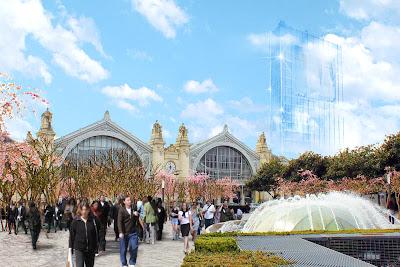 gare de Tours projet ilot Vinci : la tour Idéale